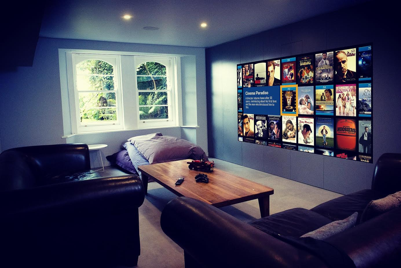 Basement Media Room Cinema