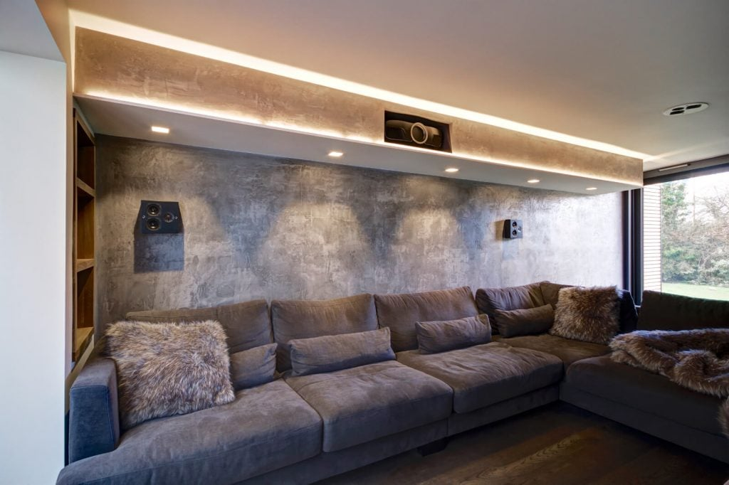 Cinematic Media Room - seating - CinemaWorks